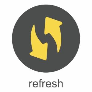 refresh symbol graphic