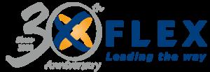 Flex 30th Anniversary Logo