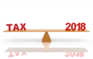 Tax 2018 on scale